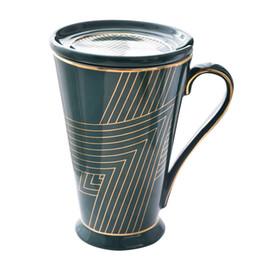 $enCountryForm.capitalKeyWord UK - Ceramics Mugs Hand Cup With Straw Lid Cup Sleeve Mug Milk Cups Home Office School Gift