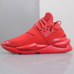 Badminton Y3 NZ - Wholesale New Y-3 Qasa x Kaiwa Chunky Sneakers Mens Casual Shoes Luxurious Black Red White Y3 Boots YohjiYamamoto Sneaker