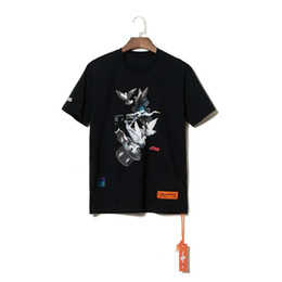 $enCountryForm.capitalKeyWord UK - Heron Preston Men Shirts Summer Short Sleeve Tops O Neck Hip Hop Male Solid Black White Shirt
