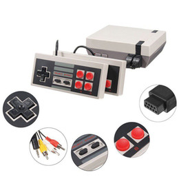 Discount nes mini - Fashion Mini TV Can Store 620 500 Game Console Video Handheld for NES Games Consoles with Retail Box DHL Shipping