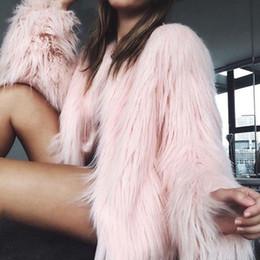 $enCountryForm.capitalKeyWord Australia - Luxury Winter Women Artificial Faux Fur Short Coat Ladies Warm Cropped Fur Jacket Casual Party Clothes Women Crop Tops chaqueta