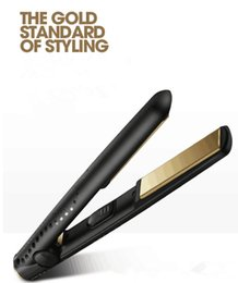 $enCountryForm.capitalKeyWord Australia - DHL free shipping V Gold Max Hair Straightener Classic Professional styler Fast Hair Straighteners Tourmaline ceramic Hair Styling tool
