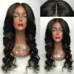 $enCountryForm.capitalKeyWord NZ - 8A Brazilian Virgin Hair Glueless Front Lace Wigs Brazilian Hand-made Deep Wave Human Hair Braiding Full Lace Wig