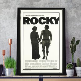 $enCountryForm.capitalKeyWord Australia - Rocky Original Vintage Film HD Art Canvas Modern Poster Painting Wall Picture Print Home For Living Room Bedroom Decoration