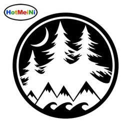 $enCountryForm.capitalKeyWord Australia - Wholesale Interesting Scenery On Mountain In The Evening Vivid Vinyl Car Sticker Beautiful Window Decal 15cm*15cm