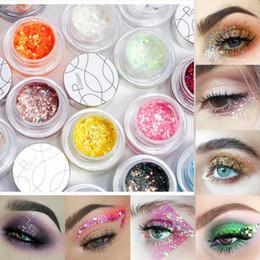 Glitter Sequins Free Glue Diamond Beads Laser Sequins Eyeshadow Powder Color Matte Eye Shadow Cosmetics Beauty Essentials