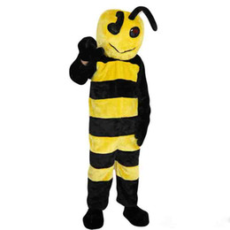 $enCountryForm.capitalKeyWord UK - New high quality yellow bee Mascot costumes for adults circus christmas Halloween Outfit Fancy Dress Suit Free Shipping