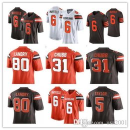 games xxl 2019 - Cleveland 6 Baker Mayfield 21 Denzel Ward 80 Jarvis Landry Jersey Mens 95 Myles Garrett 31Chubb 22 Peppers Jerseys Color