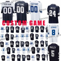 custom Game Dallas Cowboys Jerseys 19 Brice Butler 90 DeMarcus Lawrence 5  Dan Bailey 20 Darren McFadden 48 Johnston 54 Smith Jersey 77bfcfa18