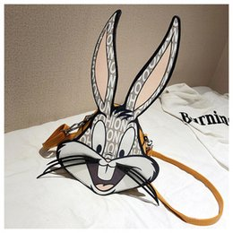 $enCountryForm.capitalKeyWord Australia - Famous Bugs Bunny Fashion Pattern Design Kids Fun Cartoon Girls Lady Stars Love Super Popular Cross Body Shoulder Bags