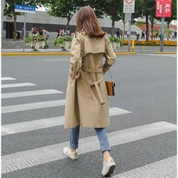 $enCountryForm.capitalKeyWord Australia - Fashion Windbreakers Manteau Long Femme Hiver Trench Autumn Coat Female For Parka Women Moda Mujer Plus Size Spring Cloak Bur