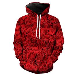 2e8ac73eeee Feitong Men s Causal Hoodies Sweatshirts Plus Size Male 3D Rose Love Long  Sleeve Pullover Tops Sweatshirt sudaderas para hombre