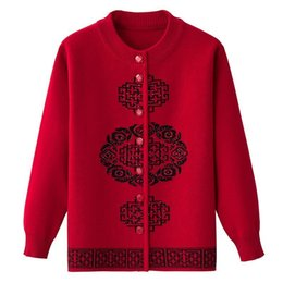 $enCountryForm.capitalKeyWord UK - 2019 New Fashion Plus Size Knitting Warm Print Cardigans Sweater Women Long Sleeve O-neck Sweaters Re0744