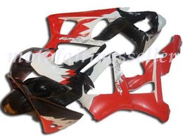 honda cbr929rr fairing red NZ - OEM Quality New ABS Full Fairings Kits fit for HONDA CBR929RR (2000-2001) CBR929 00 01 Bodywork set Black-Red-White