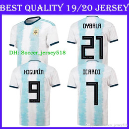 0b140724914 Discount soccer jersey shirt free shipping -  ) Free Shipping 2019 20  Argentina Copa America