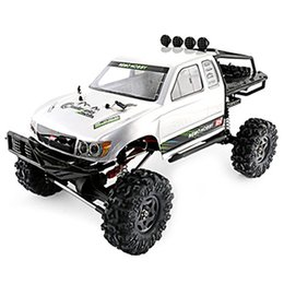 Wholesale New Arrival 1:10 RC Car 2.4G 4WD Brushed Off-Road Rock Crawler Trail Rigs Car RTR Remote Control Cars Toys Kid Gift
