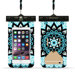 Drive Packs Australia - PVC IP65 Waterproof Bag for Phones Cool Prints Touch Outside Swimming Waterproof Cover for iPhone Samsung Xiaomi Driving Bag 129 #214391