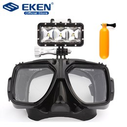 $enCountryForm.capitalKeyWord Australia - amera Photo Sports Action Video Cameras Accessories Diving Light Portable Multi-functional 30m waterproof   Diving glass mask , floting ...