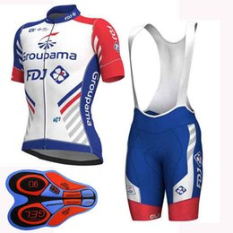 FDJ team Cycling Short Sleeves jersey (bib) shorts sets 2019 mtb bike  outdoor High Quality Wear Comfortable Breathable Sweatshirt 122907F c773628e6