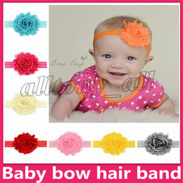 $enCountryForm.capitalKeyWord Australia - INS European and American baby candy colors Bow headband 12 colors baby girl elegant hair bows accessories