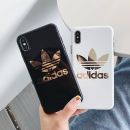 ship covers for cell phones 2019 - One Piece luxury designer phone case For iphone 6 7 8 plus xs max XR plating gold high quality Cell phone cover stunk Fr