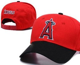 Discount angels snapback hats Hot New Men's Angels hats A Logo Casquette Woman Strapback All Teams Baseball hat Embroidered Snapback Sports Chape