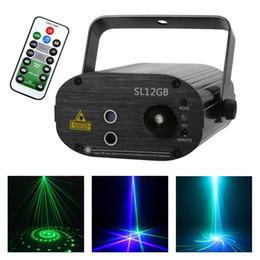 $enCountryForm.capitalKeyWord Australia - AUCD Mini Portable 3W 12 GB Green Blue Laser Effect Projector LED Light DJ Party Show Club Stage Lighting SL12GB