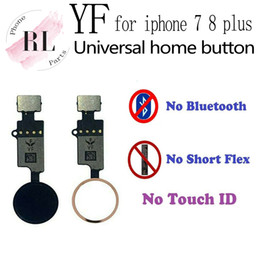 Universal home button for iPhone 7 Plus 7G 8 Plus 7P 8P Return home button only back function and screen capture on Sale