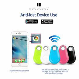 Wholesale Anti-lost Alarm Smart Tag Wireless Bluetooth Tracker Child Bag Wallet Key Finder BLT Locator anti lost alarm itag
