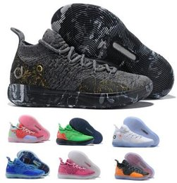 2c4154927bd3 Kd 11 11s Basketball Shoes Sneakers 2019 Mens Black Multi Still Eybl BHM  Kevin Durant XI Oero Foam Man Sports Trainer Cheap Shoes