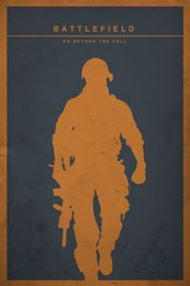 $enCountryForm.capitalKeyWord NZ - Battlefield: Go Beyond The Call - Minimalist Decor Art Silk Print Poster 24x36inch 24x43inch