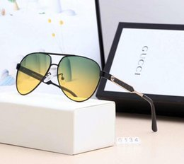 $enCountryForm.capitalKeyWord Australia - Designer Sunglasses Luxury Sunglasses Fashion Brand for man Glass Design for night Driving UV400 Adumbral with Box G0134 High Quality