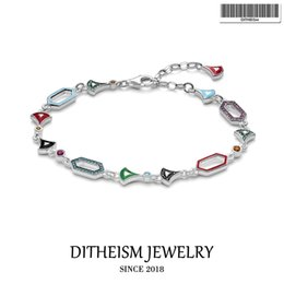 925 silver dragon chain NZ - Dragon Night Link Bracelets, 2019 Thomas New 925 Sterling Silver Fashion Jewelry Ethno Gift Fit Ts Beads for Women Girls