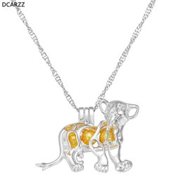 Link Action Figures Australia - Lion King Simba Necklace 2019 Movie Cartoon Jewelry Women Girls Boys Gifts DIY Jewelry Silver Action Figures Pendant Wholesale