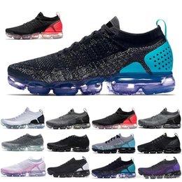 $enCountryForm.capitalKeyWord Australia - 2019 Knit 2.0 Fly 1.0 Men Women BHM Red Orbit Metallic Gold Triple Black Designers Sneakers Trainers Running Shoes With box