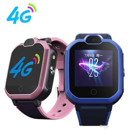 new gps smart watches 2020 - 2019 NEW 4G Child T6 Smart Watch Phone GPS Kids Smart Watch Waterproof Wifi Antil-lost SIM Location Tracker Smartwatch H