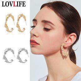 $enCountryForm.capitalKeyWord Australia - Creative Design Letter C Alphabet Metal Drop Earrings New Trendy Women Party Dangle Earring Fine Jewelry Accessories