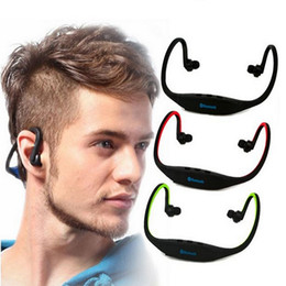headphone lg Australia - S9 Wireless Headphone Stereo Headset Sports Bluetooth Speaker Neckband Bluetooth 4.0 earphone for iphone 7 8 x samsung With Retail Package