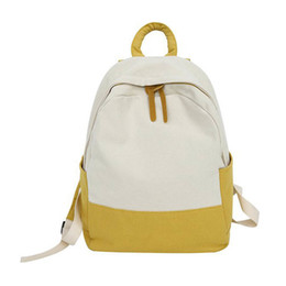 good quality girls school bags 2019 - Women Lady Girl Canvas School Student Shoulder Bag Backpack Fashion For Books Laptop good quality cheap good quality gir