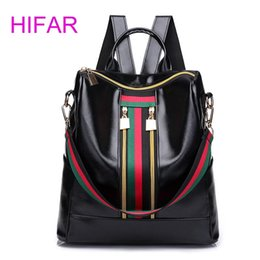 small waterproof tote bag Australia - 2018 Women Travel Stripe Mini Small Backpacks Waterproof Totes Luxury Designer Stundet Luggage Duffle Shoulder Anti Theft Bag