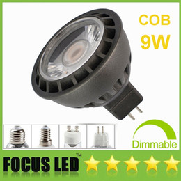 b22 downlight Australia - Fashion 9W COB Led bulbs Dimmable Led Spot Light 110-240V  DC12V Cabinet Spotlight Downlight Display Lights Lamps GU10 MR16 E27 E14 GU5.3