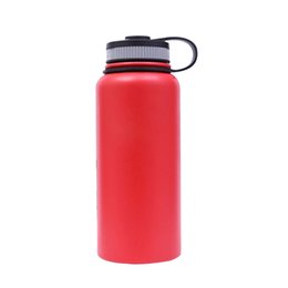 $enCountryForm.capitalKeyWord UK - 32oz Vacuum Insulated 304 Stainless Steel Water Bottle Wide Mouth big Capacity Travel Water Bottle Kettle thermos