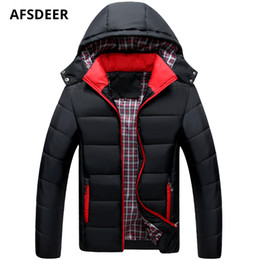 $enCountryForm.capitalKeyWord NZ - 2018 Winter Fashion Casual Hoodies Parka Men Jacket Brand Outwear Windproof Solid Thick Warm Padded Cotton Coat Male Clothes 5XL