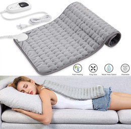 Heating Pad, Electric Heating Pad for Moist & Dry Heat, 6 Electric Temperature Options, 4 Temperature Settings-Auto Shut Off -King on Sale