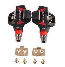 $enCountryForm.capitalKeyWord Australia - Costelo MTB Mountain bike Pedals Carbon Ti Tianium bicycle bike pedals with cleats only 264g