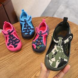 Brown Toddler Sandals Australia - Summer Kids Toddler Boys Girls Rubber Children Casual Sandalias Beach Shoes Anti-slip Sports Sandals 2-7t Q190601