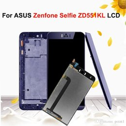 "asus zenfone screen UK - 5.5""Original LCD Display For Asus Zenfone Selfie ZD551KL Z00UD LCD Display Touch Screen Digitizer Assembly with Frame"