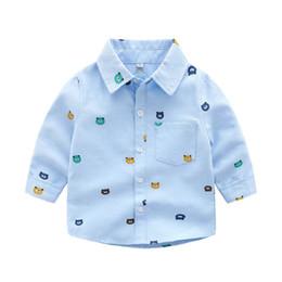 3a22d2958eb9 Spring new 2019 Fashion kids designer clothes boys Shirts Cotton long  sleeve Children Shirts Best Shirts kids clothing kids clothes A2621