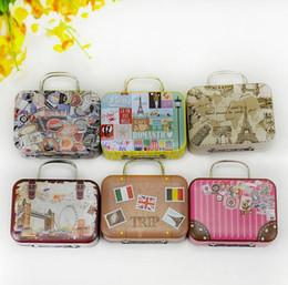 $enCountryForm.capitalKeyWord Australia - Mini Cartoon Handbag Metal Storage Box for Candy Tea Coin Kawaii Tin Boxes for Small Thing Jewelry Organizer SN1814