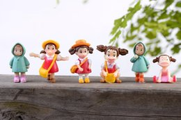 cute japanese anime figure Australia - Anime Japanese My Neighbor Totoro Cute Xiaomei PVC Cartoon Action Figure Collectable Model Toy for girls gift Six styles